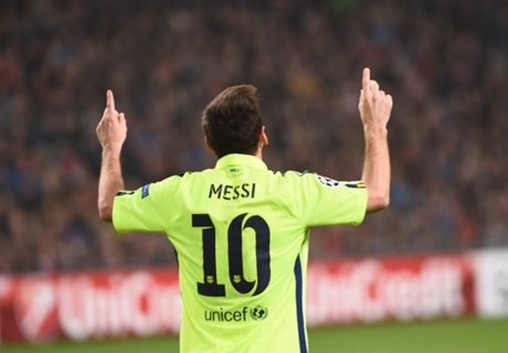 Messi revels in 'happy moment'