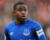 Everton forward Ademola Lookman.