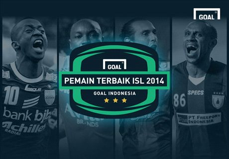 Hari Ini! Pemain Terbaik ISL 2014