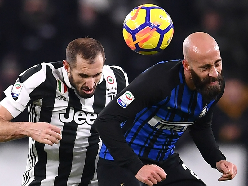 Juventus-Inter, vincono le difese: Miranda e Chiellini annullano i bomber