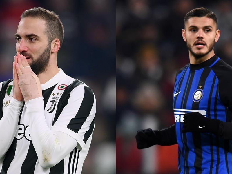 Juventus-Inter, mancano i protagonisti: Higuain e Icardi deludono le attese