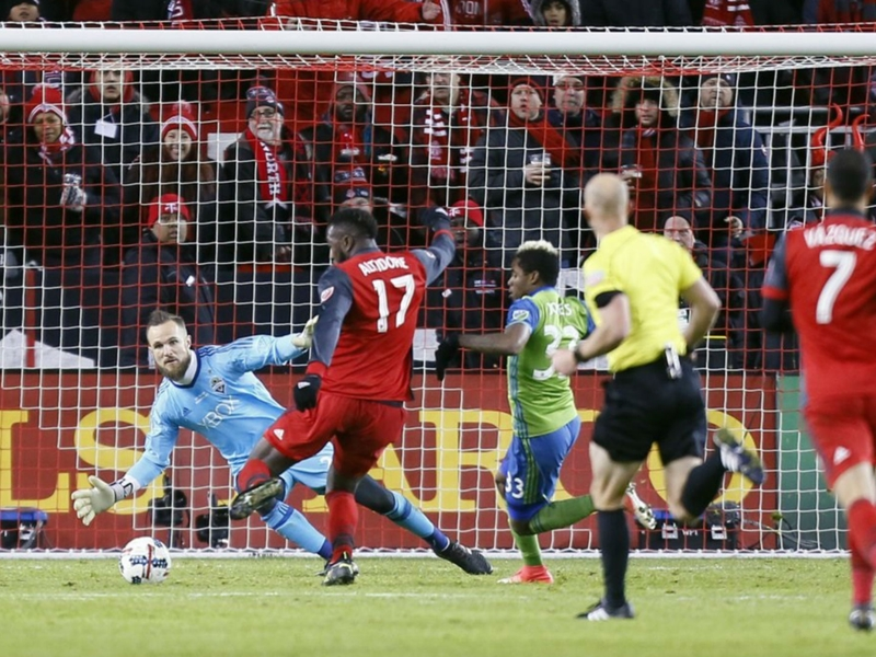 Toronto FC 2 Seattle Sounders 0: Altidore and Vazquez seal MLS Cup and historic treble