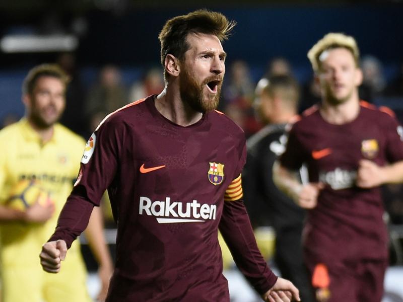 VIDÉO - Le but et les dribbles de Messi face à Villarreal
