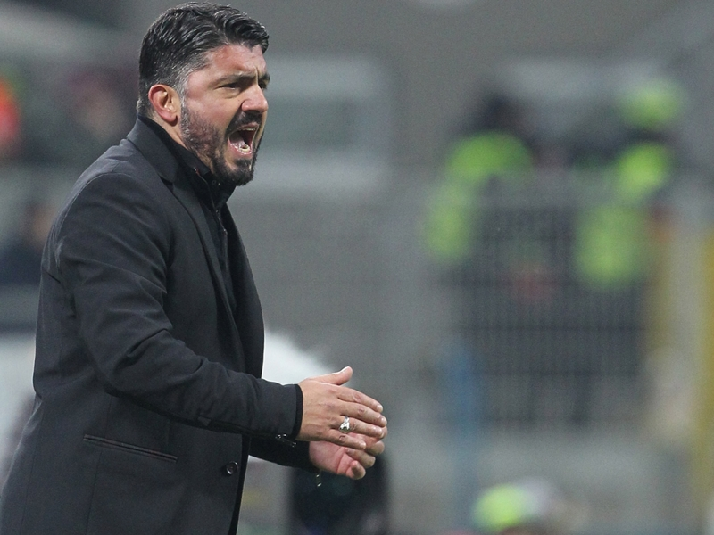 Gattuso: I'm even tense playing football with my son!