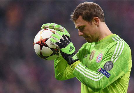 Momento genial: Neuer frustra a la Roma