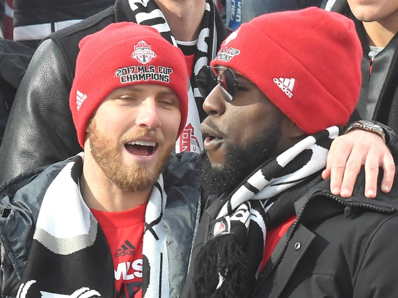'I've been partying since Saturday' - Jozy Altidore gives epic speech at Toronto FC's MLS Cup rally