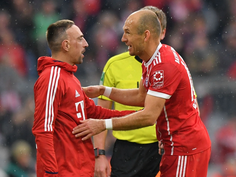 Bayern planning 'serious talks' with Robben and Ribery