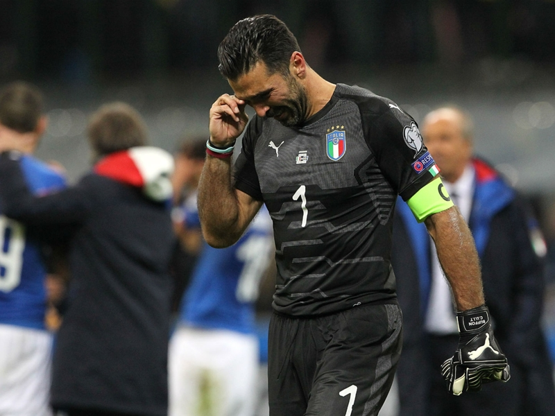 Buffon not ruling out Euro 2020 with Italy