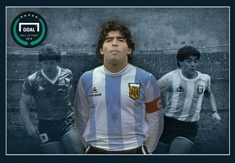 Diego Maradona is one of a kind