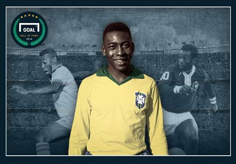 Pele inducted into Goal Hall of Fame
