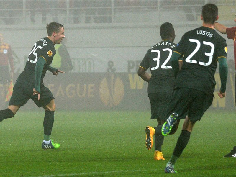 Astra Giurgiu 1-1 Celtic: Deila's men frustrated in Romania