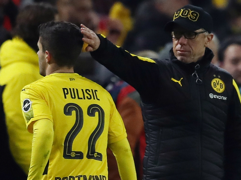Stoger tight-lipped on Dortmund future as exit threat looms