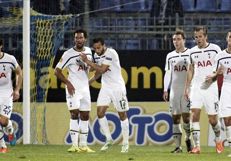 Player Ratings: Asteras 1-2 Spurs