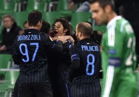 Saint-Etienne 1-1 Inter: Unlikely hero