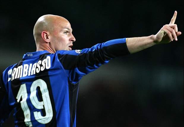 Esteban Cambiasso Applauds 'Keeper Julio Cesar After Late Inter Win