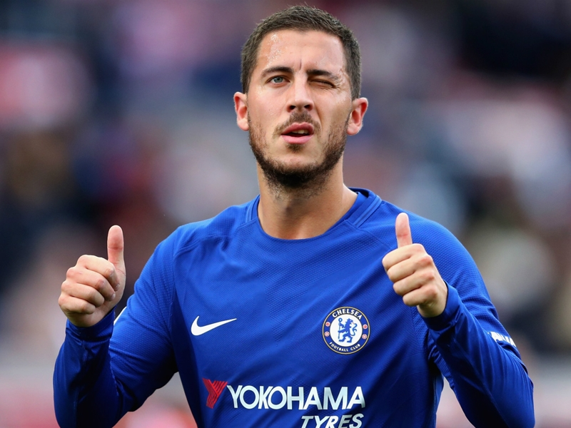 Hazard feels more at home in Chelsea wide role than false nine post