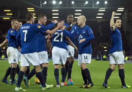 Le Dinamo Moscou reçu 4 sur 4, Everton domine Lille