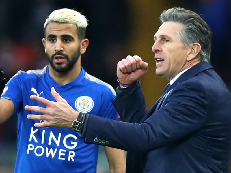 """Leicester, Puel : """"Mahrez est heureux avec nous"""""""