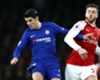 Alvaro Morata Calum Chambers Chelsea Arsenal 03012018
