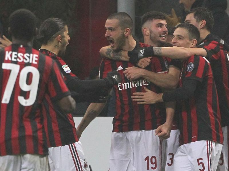 AC Milan 1 Crotone 0: Bonucci off the mark for Rossoneri