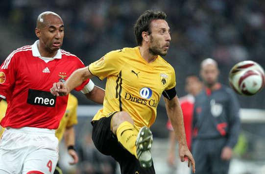 Europa League: AEK v Benfica / Luisao - Kafes (INTIME)