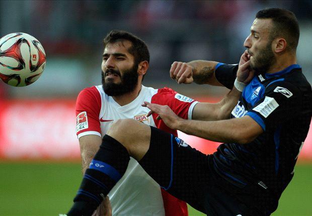 Halil Altintop holte mit Augsburg den nächsten wichtigen Sieg