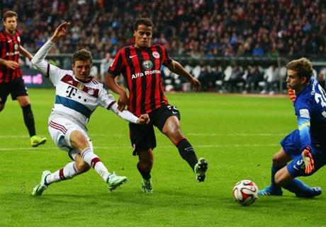 Match Report: Frankfurt 0-4 Bayern