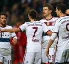 Bayern goleó como visitante