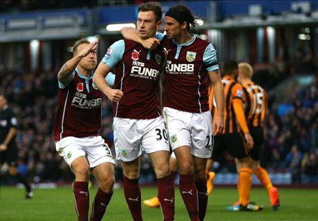 Player Ratings: Burnley 1-0 Hull