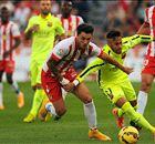 Suarez leidt stroef Barça langs Almería