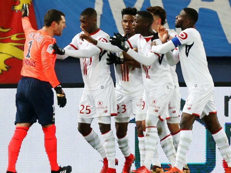 Caen-Lille, Vercoutre expulsé pour avoir empêché une célébration de but adverse