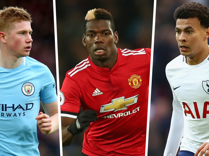 Premier League most assists 2017-18: Pogba draws level with Man City stars
