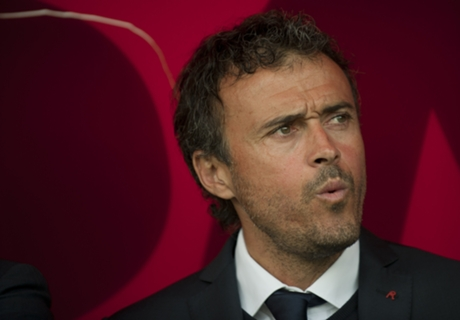 Luis Enrique hits out at derby day