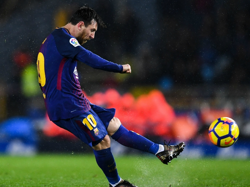 Messi breaks Muller record as Barca storm back against Real Sociedad