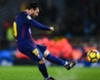 Barcelona's Lionel Messi scores against Real Sociedad
