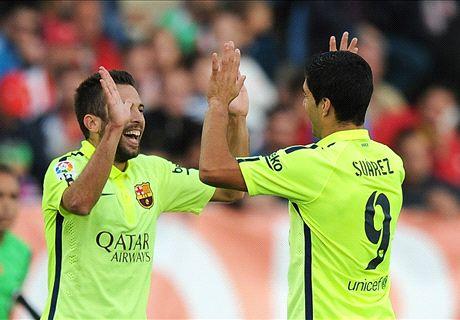 Noten: Suarez bärenstark, Messi blass