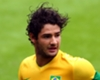 Alexandre Pato playing for Brazil