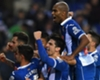 Espanyol celebrate their victory over Barcelona