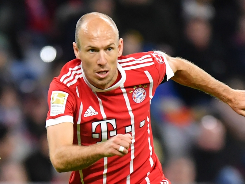 Robben relaxed over Bayern contract talks as other clubs circle