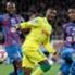 I giocatori del Caen in azione