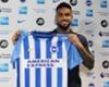 Brighton sign striker Jurgen Locadia
