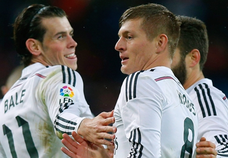 Real Madrid-Rayo Vallecano, les notes