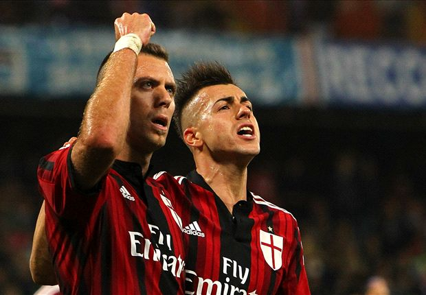 Sampdoria 2-2 AC Milan: Menez clinches point for 10-man Rossoneri