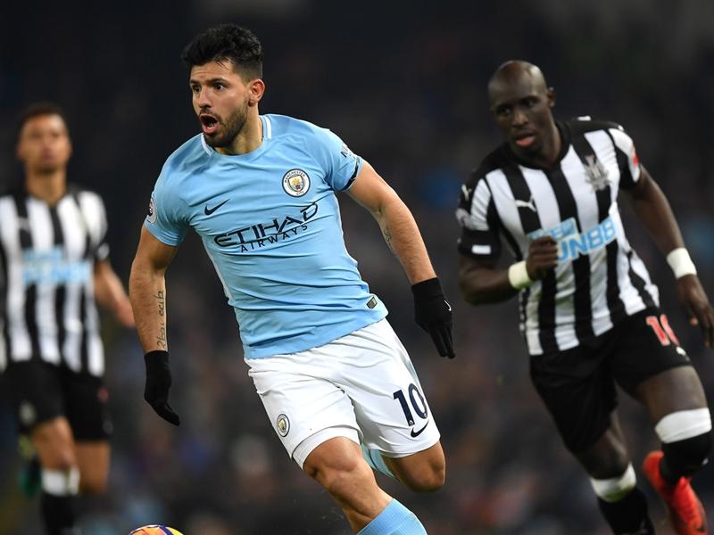 Manchester City-Newcastle 3-1, Aguero et Man City repartent de l'avant