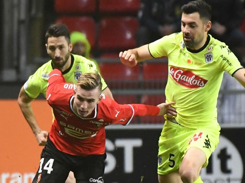 Rennes-Angers 1-0, Rennes dans la douleur