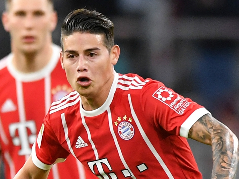 Real Madrid told why they will not be getting James back from Bayern