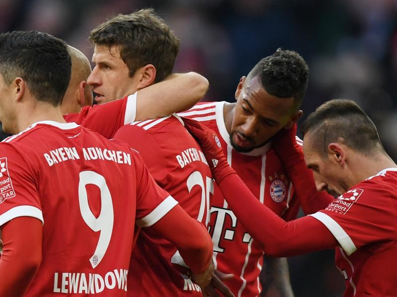 Bayern Munich-Werder Brême 4-2, Lewandowski et Müller voient double