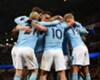 Manchester City celebrate against Newcastle