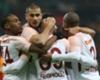Kayserispor Galatasaray goal celebration Mariano Garry Rodrigues Eren Derdiyok 01222018