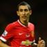 O jogador do Manchester United ficou com o Olimpia de Plata